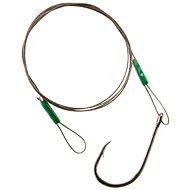 Cormoran 7x7 Wire Leader - Loop and Single Hook Velikost 2/0 13kg 50cm - Lanko