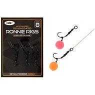 NGT Ronnie Rig & Teflon Hooks Velikost 8 3ks - Návazec