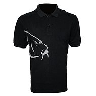 Zfish Carp Polo T-Shirt Black Velikost L - Tričko