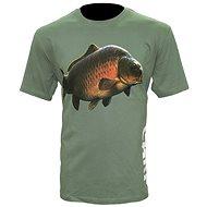 Zfish Carp T-Shirt Olive Green Velikost M - Tričko