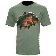 Zfish Carp T-Shirt Olive Green Velikost L - Tričko