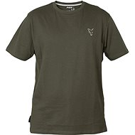 FOX Collection Green & Silver T-Shirt Velikost M - Tričko