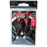 FOX Rage Jig X Heads 10g Velikost 3/0 3ks - Jigová hlavička
