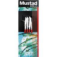 Mustad 4 Hook Sea Flector Mackerel Trace T4 Velikost 3/0 - Návazec