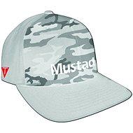 Mustad Multi Fit Cap Gray Camo - Kšiltovka