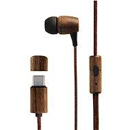 Energy Sistem Earphones Eco Walnut Wood - Sluchátka