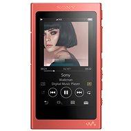Sony NW-A45R červený - FLAC přehrávač