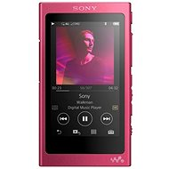 Sony Hi-Res WALKMAN NW-A35 růžový - FLAC přehrávač