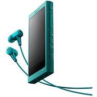 Sony Hi-Res WALKMAN NW-A35 modrý + sluchátka MDR-EX750 - MP3 přehrávač
