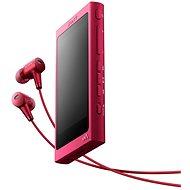 Sony Hi-Res WALKMAN NW-A35 růžový + sluchátka MDR-EX750 - MP3 přehrávač