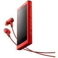 Sony Hi-Res WALKMAN NW-A35 červený + sluchátka MDR-EX750 - FLAC přehrávač