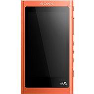 Sony NW-A55L oranžový - MP3 přehrávač