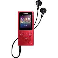 Sony NW-E394L, červená