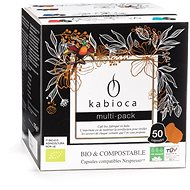 Kabioca BIO kompostovatelné kávové kapsle pro Nespresso mix balení 50ks - Kávové kapsle