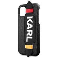 Karl Lagerfeld Strap pro iPhone 11 Pro Max Black  - Kryt na mobil