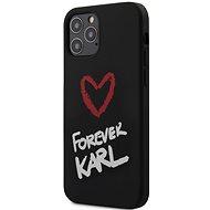Karl Lagerfeld Forever pro Apple iPhone 12/12 Pro Black