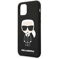 Karl Lagerfeld Iconic pro iPhone 11 Black  - Kryt na mobil