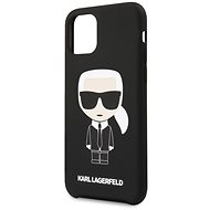 Karl Lagerfeld Iconic pro iPhone 11 Pro Black - Kryt na mobil