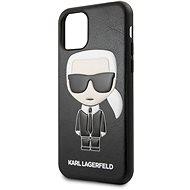 Karl Lagerfeld Embossed iPhone 11 Pro Black - Kryt na mobil