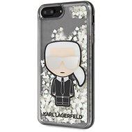 Karl Lagerfeld Liquid Glitter Iconic Kryt pro iPhone 7/8 Plus  - Kryt na mobil