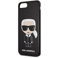 Karl Lagerfeld Ikonik Cover for iPhone 7/8 Plus, Black - Mobile Case