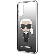 Karl Lagerfeld Degrade Kryt pro Samsung Galaxy S20 Black - Kryt na mobil