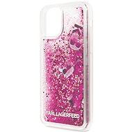 Karl Lagerfeld Floating Charms Kryt pro iPhone 11 Pro Max Rose Gold (EU Blister) - Kryt na mobil