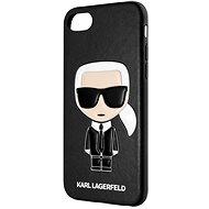 Karl Lagerfeld Full Body Iconic pro iPhone 8/SE 2020 Black - Kryt na mobil