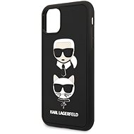 Karl Lagerfeld 3D Rubber Heads pro iPhone 11 Pro Max Black