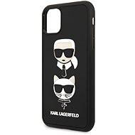 Karl Lagerfeld 3D Rubber Heads pro iPhone 11 Black