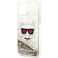 Karl Lagerfeld Heads Glitter pro iPhone 11 Gold - Kryt na mobil