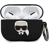 Karl Lagerfeld Silicone Cover for Airpod Pro, Black - Case
