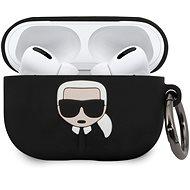 Karl Lagerfeld Silikonový Kryt pro Airpod Pro Black - Pouzdro