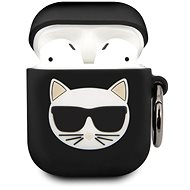 Karl Lagerfeld Choupette Case for Airpods 1/2, Black - Case