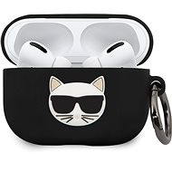 Karl Lagerfeld Choupette Case for Airpods Pro Black - Headphone Case