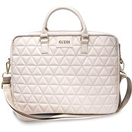 """Guess Quilted pro Notebook 15"""" Pink - Pouzdro na notebook"""