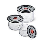 KAVALIER  PUMP&PUMP souprava zásobníků 0.35l, 1 l, 2 l 3 ks - Dóza