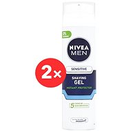 NIVEA Men Shaving gel Sensitive 2× 200 ml