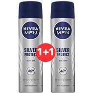 NIVEA Men Silver Protect 3 x 150 ml - Sada