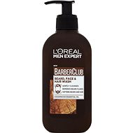 ĽORÉAL PARIS Men Expert Barber Club gel 3v1 200 ml - Čisticí gel