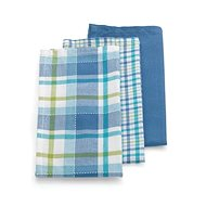 Kela Dishcloth PASADO 3pcs Blue - Dish Cloth