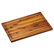 Kesper Krájecí prkénko s dřážkou akátové dřevo 40x26cm - Krájecí deska