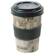 Kesper Kelímek bambusový na kávu 400ml COFFEE LETTERS
