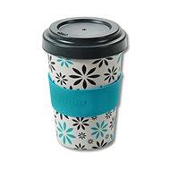 Kesper Kelímek bambusový na kávu 400ml FLOWERS - Termohrnek