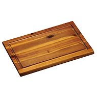 Kesper Krájecí prkénko s dřážkou akátové dřevo 31x21cm - Krájecí deska