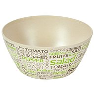 Kesper Miska na ovoce a saláty motiv: Písmena 25x25cm - Salátová mísa