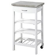 Kesper Mobile Kitchen Storage Rack - Shelf