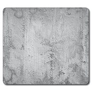 Kesper Multifunction Glass Plate with Concrete Motif, 56 x 50cm - Chopping board