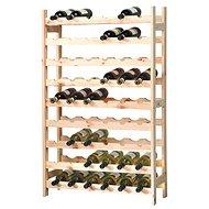 Kesper Wine Rack for 54 Bottles, Light Pine - Wine Rack