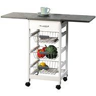 Kesper Pojízdný regál kuchyňský rozkládací - Regál